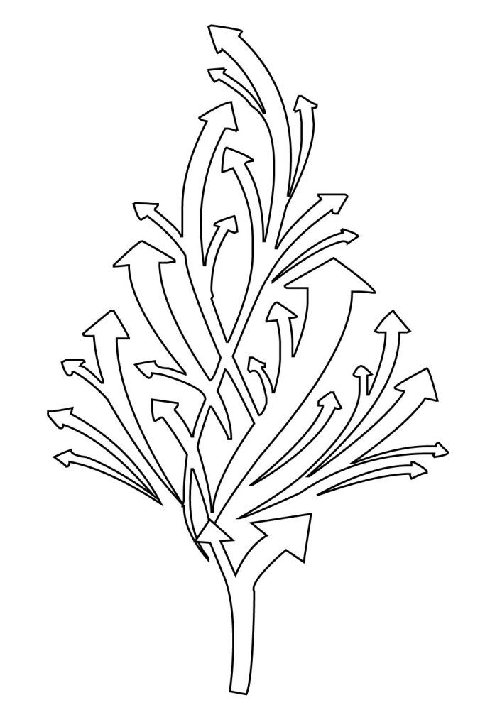 Christmas Tree Coloring Pages for Kids,Free Printable ...