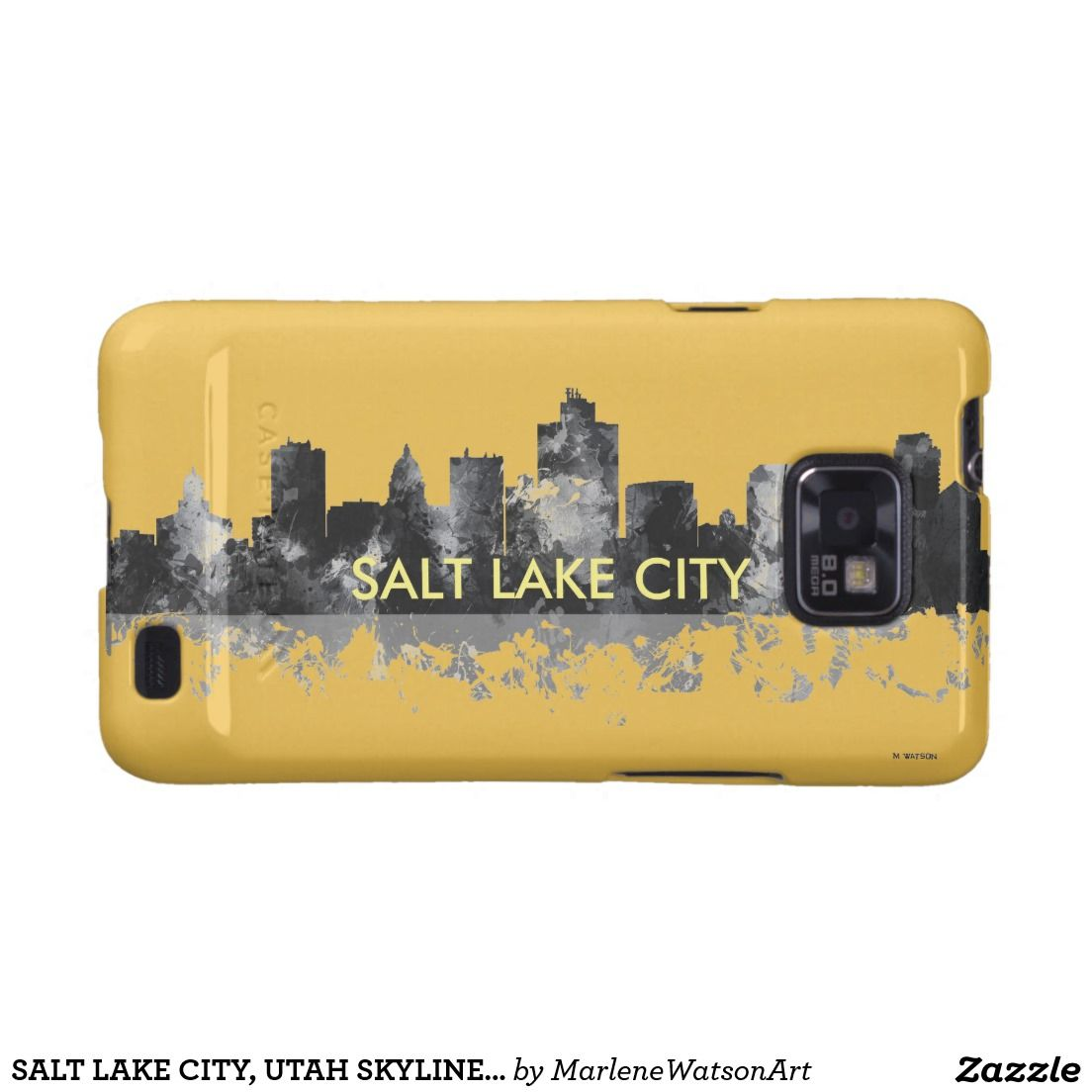SALT LAKE CITY, UTAH SKYLINE - Samsung Galaxy S2 Samsung Galaxy SII Covers