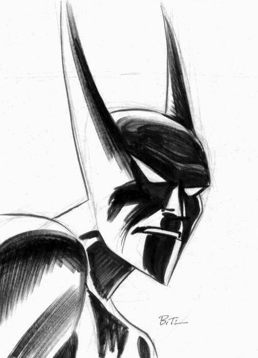 Batman Beyond by Bruce Timm   Comic, Sci-Fi, & Fantasty Art   Bruce ...
