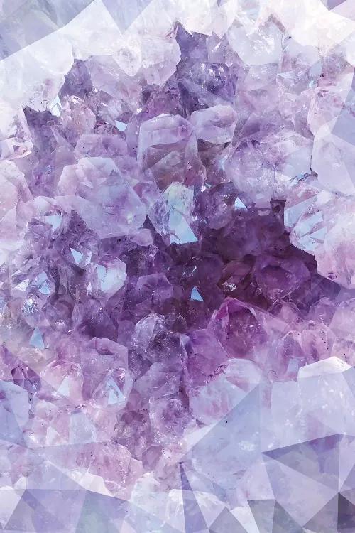 Crystal Gemstone - Canvas Print