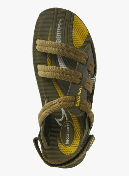 Buy Bacca Bucci Olive Sandales for Men Online India, Best Prices