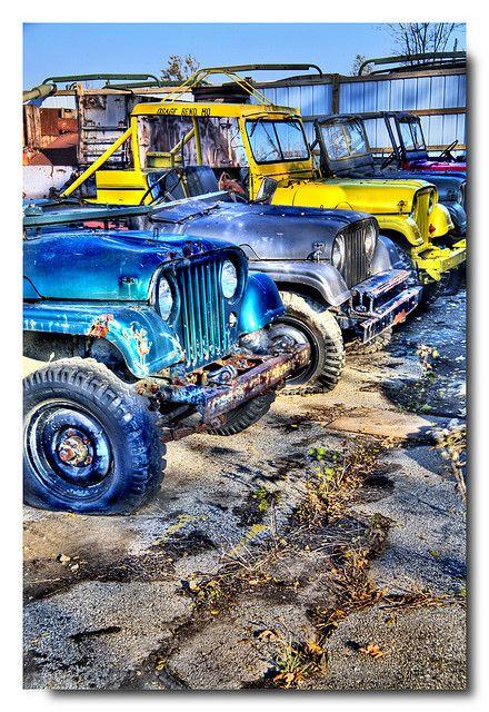 Jeep Wrangler Salvage Yards : wrangler, salvage, yards, Jeep:, Wrangler, Junkyard
