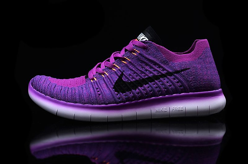 6e0820b19ea1 Nike Free RN Flyknit Women s Running Shoe Style  831070-501 Hyper Violet  Total