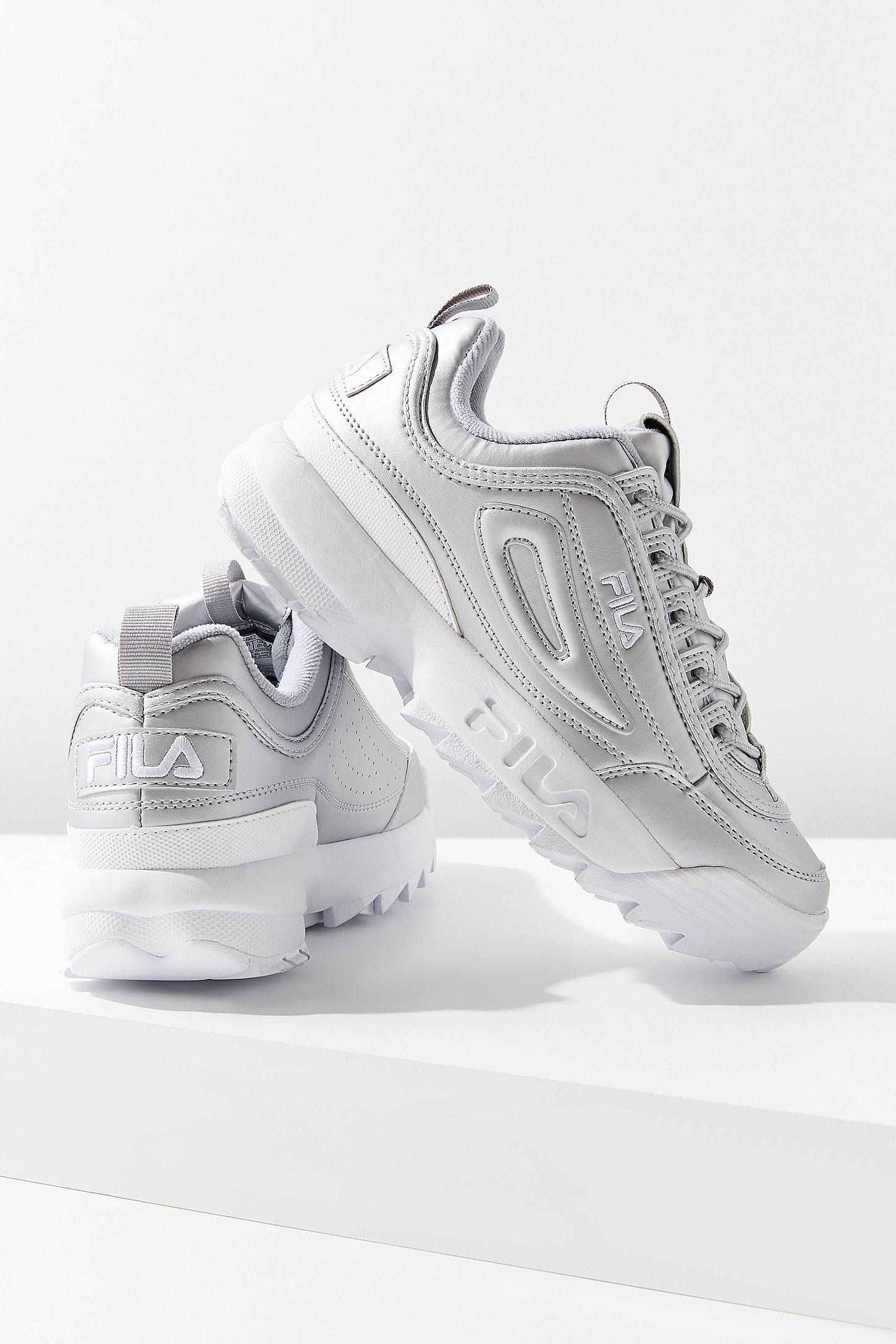1f8849c695227 FILA Disruptor II Metallic Sneaker | Chaussure | Chaussure ...