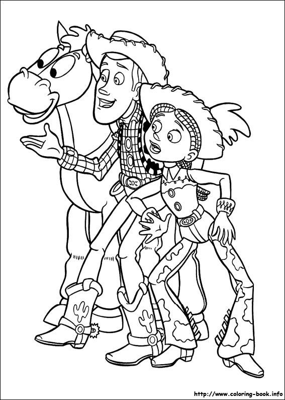 Toy Story coloring picture | Disney Coloring Pages | Pinterest | Toy ...