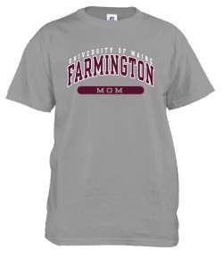 University of Maine Farmington Short Sleeve Mom Tee, Grey - $14.99