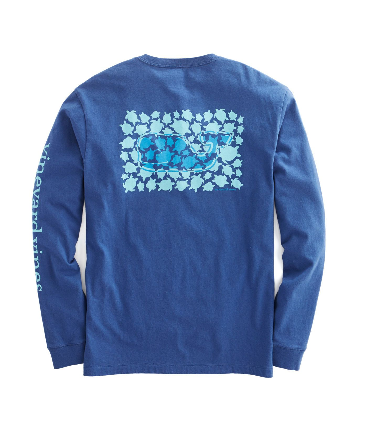 Shop Long-Sleeve Turtle Toss Pocket T-Shirt at vineyard vines