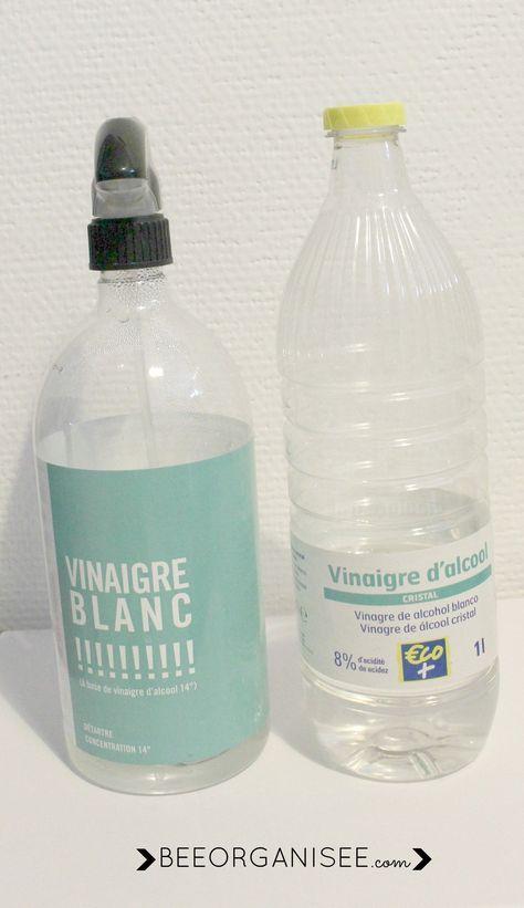 14 utilisations du vinaigre blanc produits pour la. Black Bedroom Furniture Sets. Home Design Ideas