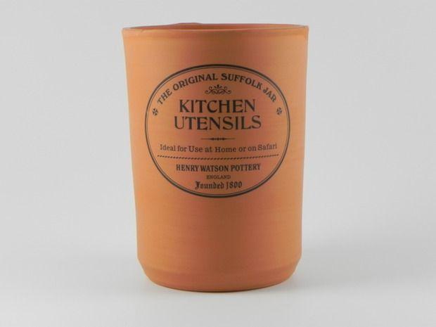 Henry Watson Original Suffolk Terracotta Utensil Jar Jar