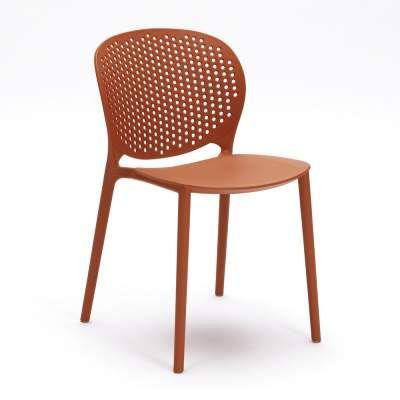 Sedia per sala da pranzo in polipropilene design moderno Blake ...