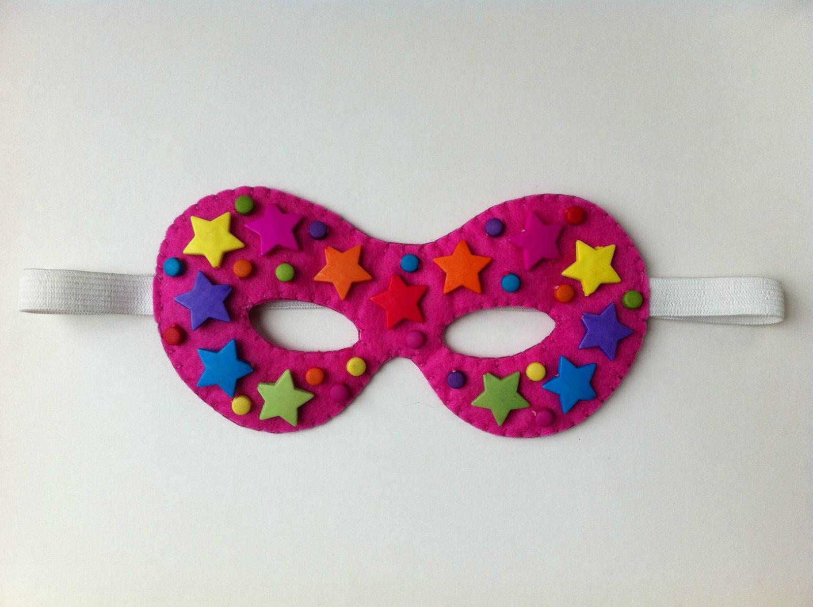 Felt Superhero Masks cakepins.com