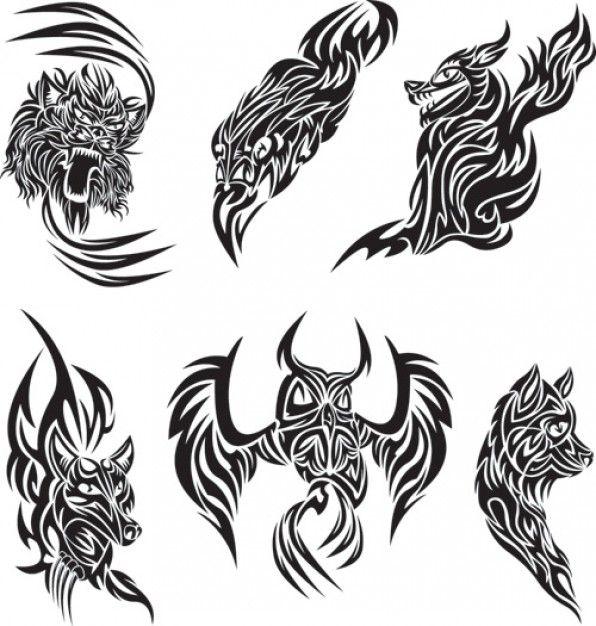 Freepik Graphic Resources For Everyone Animal Tattoos Pattern Tattoo Tattoo Graphic