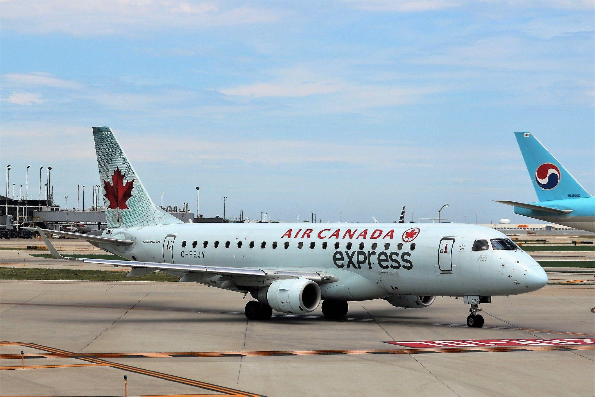 Air Canada Express ERJ175 Canada