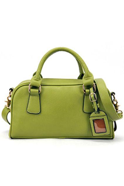 European Style Green Handle Bag romwe.com
