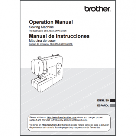 Instruction Manual Brother Jx  Sewing