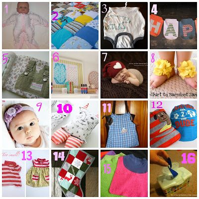16 Ways to upcycle baby clothes from consignment sales ...
