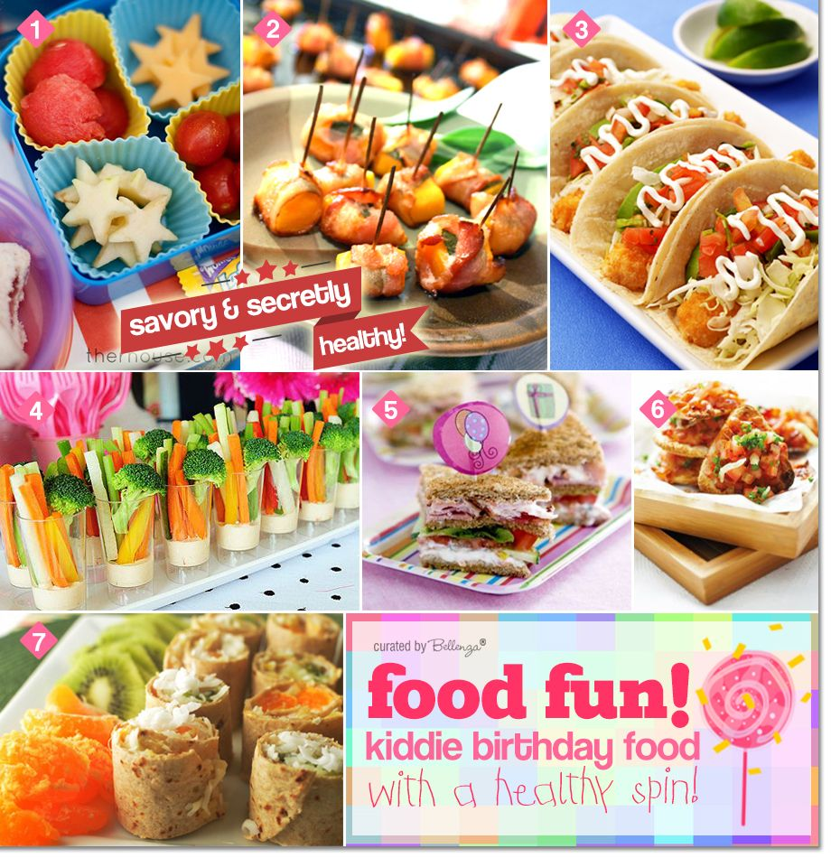Food Fun For Kids' Birthdays With A Healthy Spin
