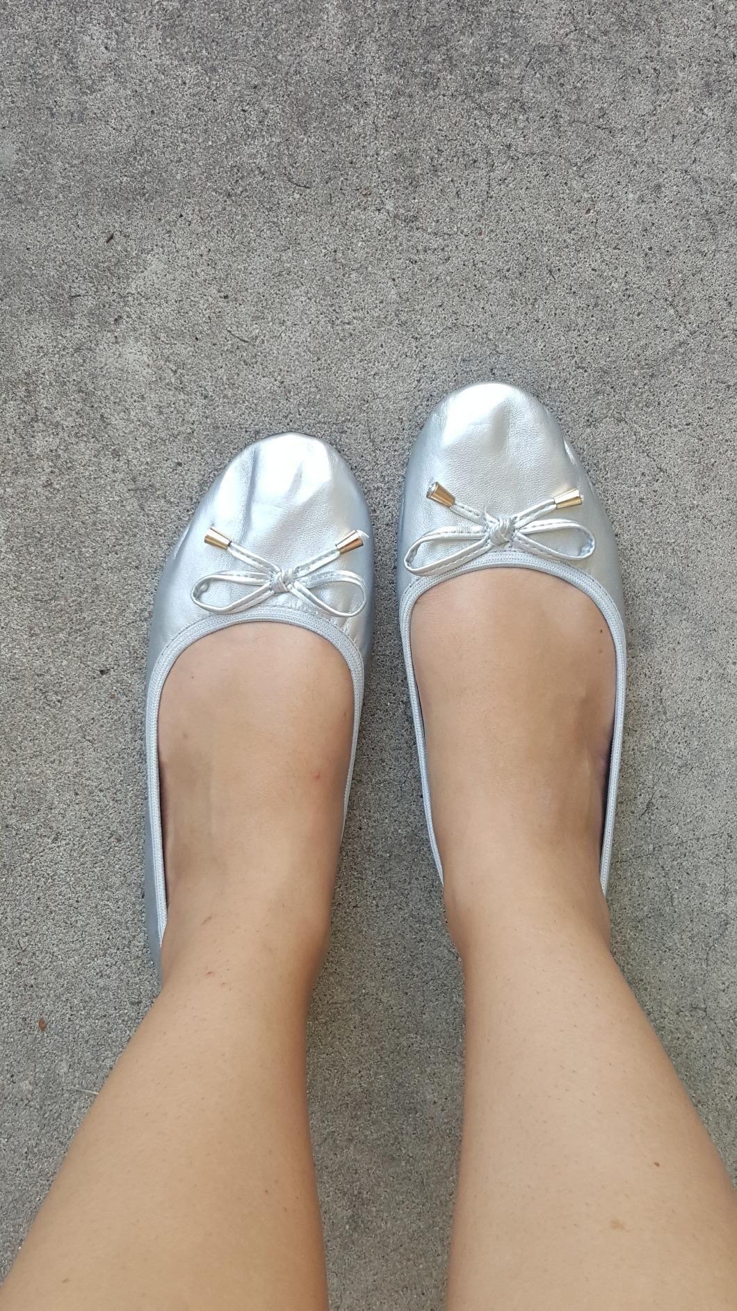 84fb7de2e Amazon.com: Customer reviews: Shoes 18 Women's Foldable Portable Travel  Ballet Flat Shoes w/Matching Carrying Case