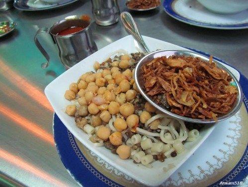 Koshary Abou Tarek Egyptian Food Koshari Vegetarian Life
