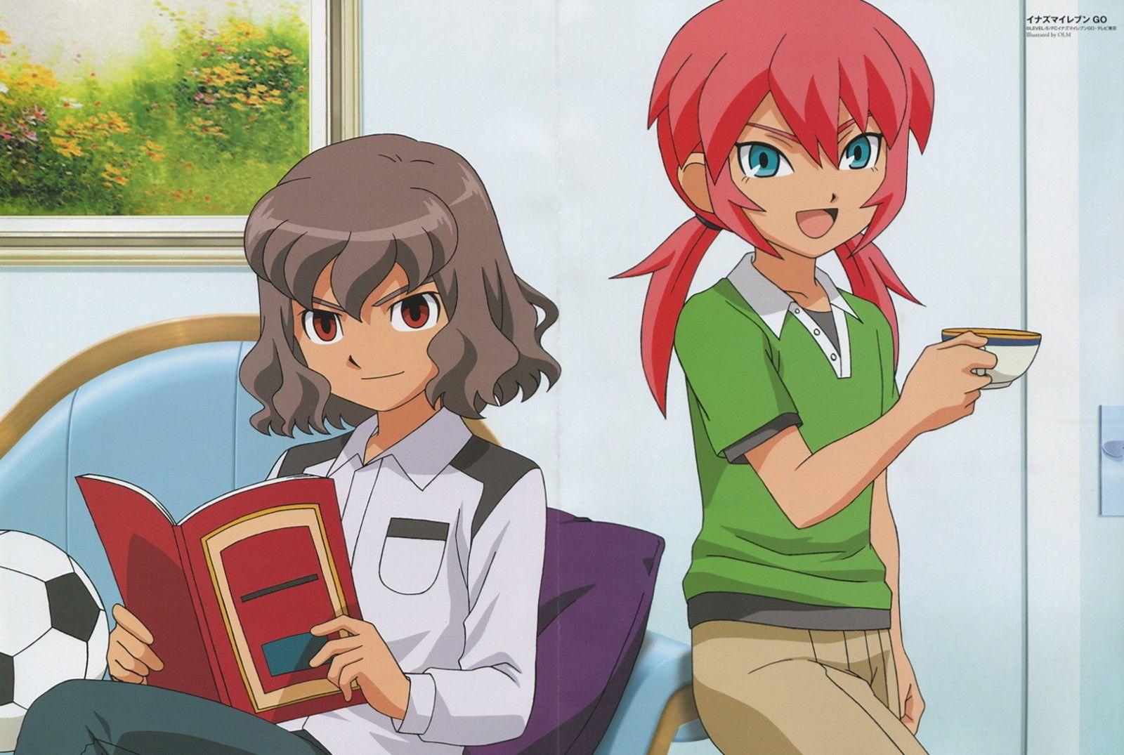 Inazuma Eleven Go Poster Promo Kirino Ranmaru Shindou