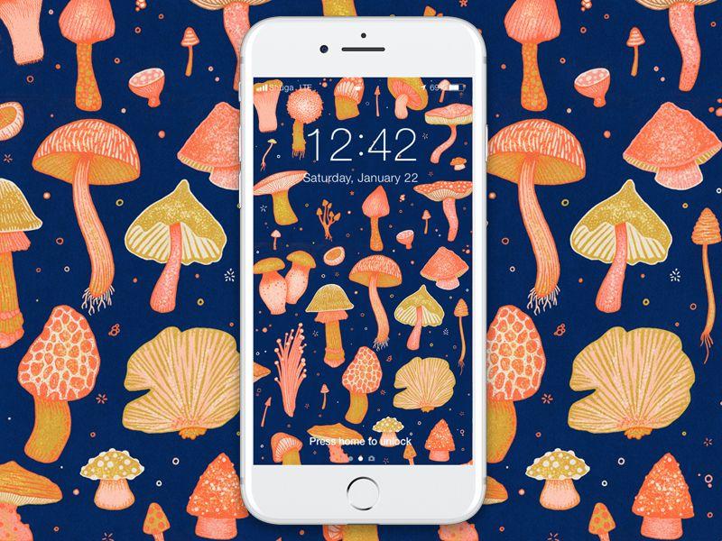 Magical Mushrooms Mushroom Wallpaper Magical Mushrooms Stuffed Mushrooms