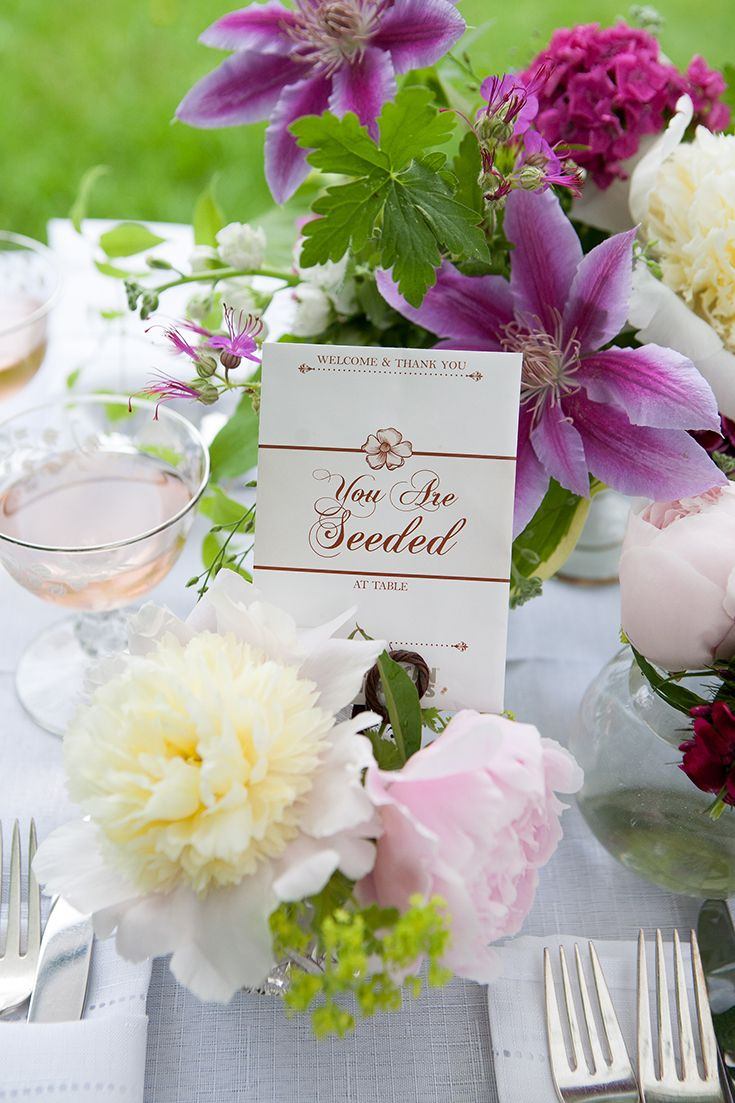 Place Card Seed Packet | Place card, Seed packets and Weddings