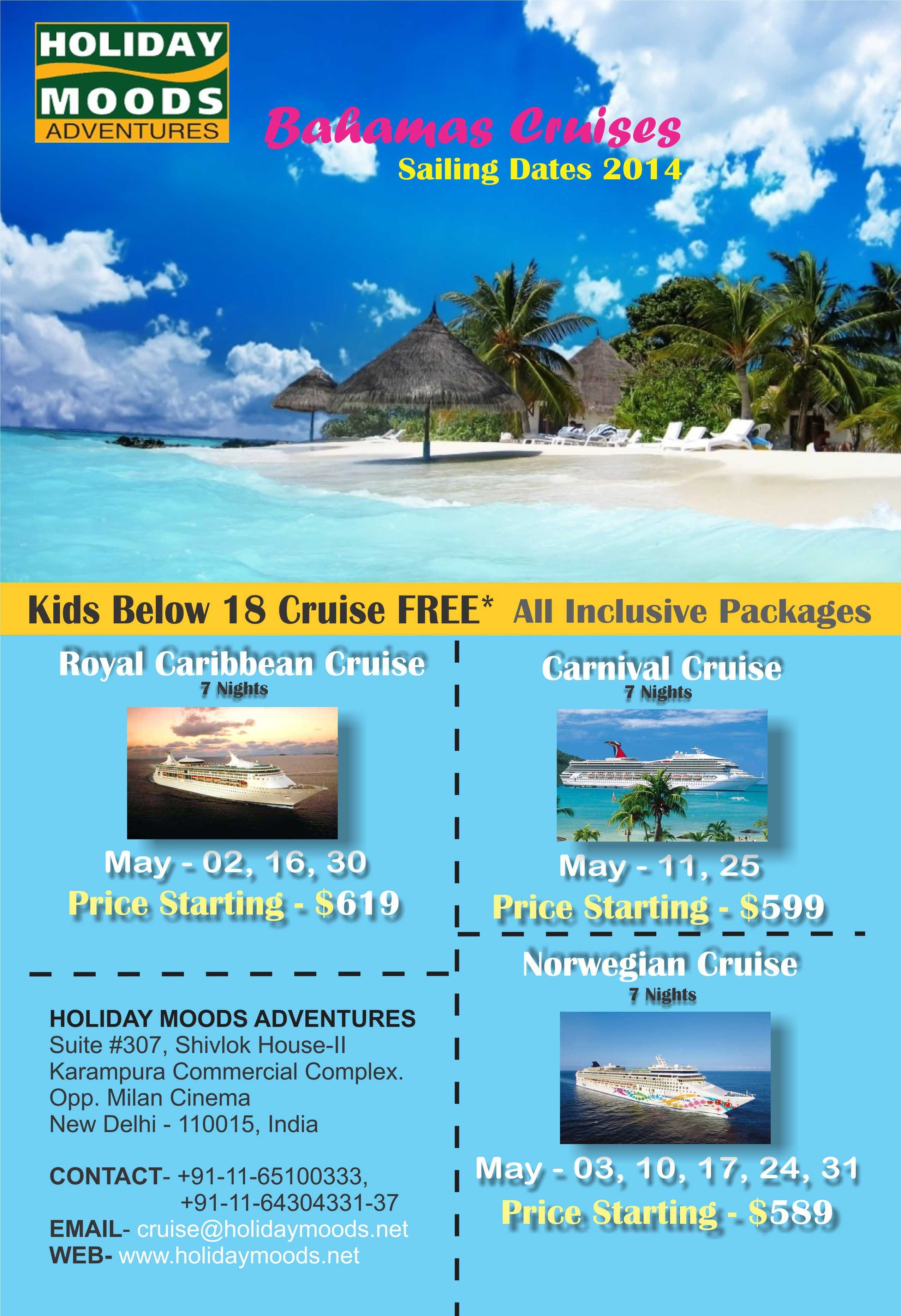 Bahamas Cruise Packages  Bahamas cruise Cruise holidays