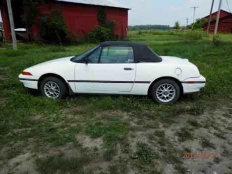 1992 Mercury Capri Cars
