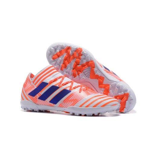 c0132c2aac0e Prodaja Adidas Nemeziz 17.3 TF ACC Tenisice Za Nogomet Orange White Blue