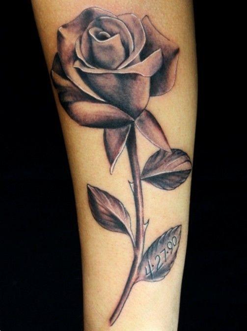 Tattoos For Black Roses Tattoo Forearm | www.getattoos.us