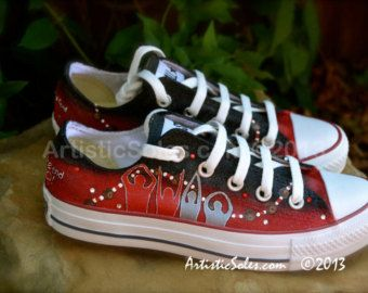 71a81db6 Ohio State Custom Converse All Star Shoes - Low Top | A Shoe In ...