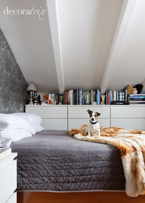 On the bed love my jack russells dormitorios - Decoracion aticos abuhardillados ...
