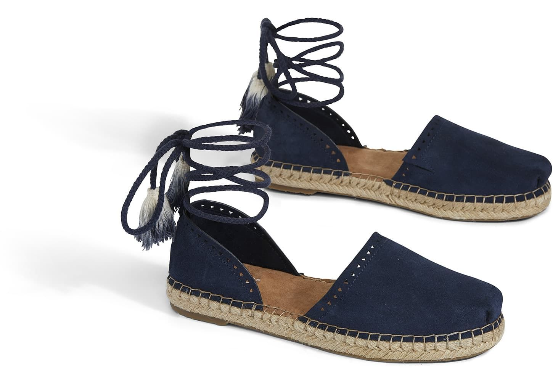 979ed622c60 Navy Suede Women's Katalina Espadrilles | TOMS® | Fashion ...