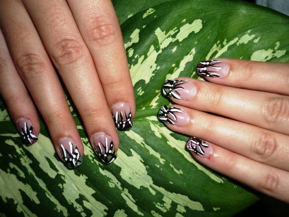 decorado uñas mano alzada   decorado uñas   Pinterest   Mano alzada