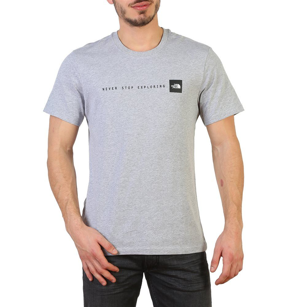 camiseta hombre manga corta the north face