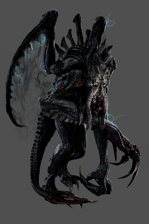 Evolve goliath vs kraken