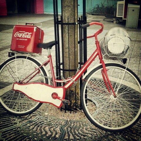 Coke's bike