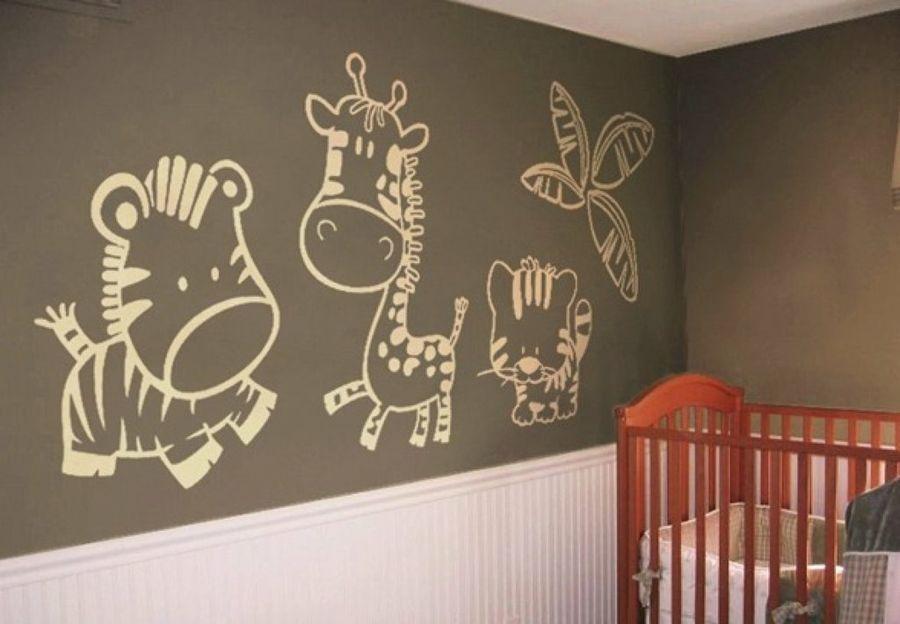 Vinilos para la habitación del bebé | Jirafa, Bebé y El bebe