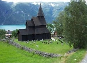 Urnes Stave Church, Norway's oldest stave church built in the year 1150.