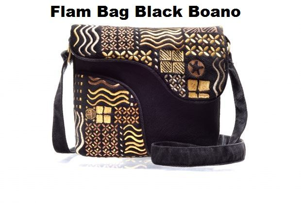 Flam Bag Black Boano | Grosir Mokamula