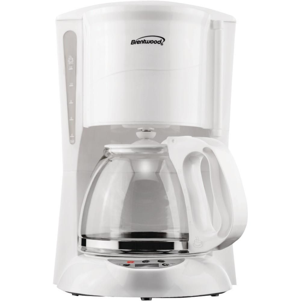 Brentwood cup digital coffee maker white products pinterest