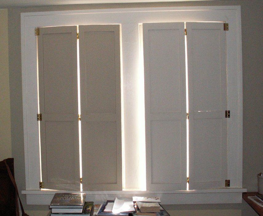 Elegant Window Shutters Interior