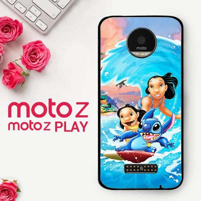 Lilo Stitch Wallpaper Y0764 Motorola Moto Z Play Case Products