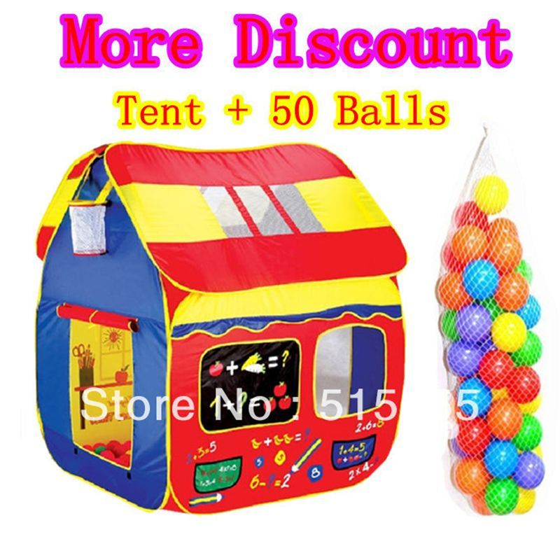Kids Gift Quality Large 1.36 M Child Tent+50 Ocean Balls Kids Game House 5.5  sc 1 st  Pinterest & Kids Gift Quality Large 1.36 M Child Tent+50 Ocean Balls Kids Game ...