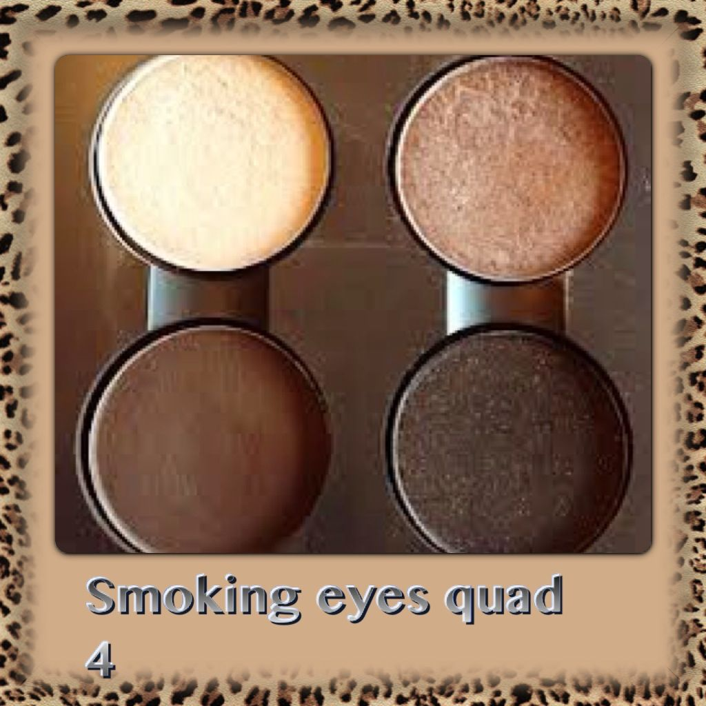 """mac quad - my """"must have"""" - for brown or hazel eyes 