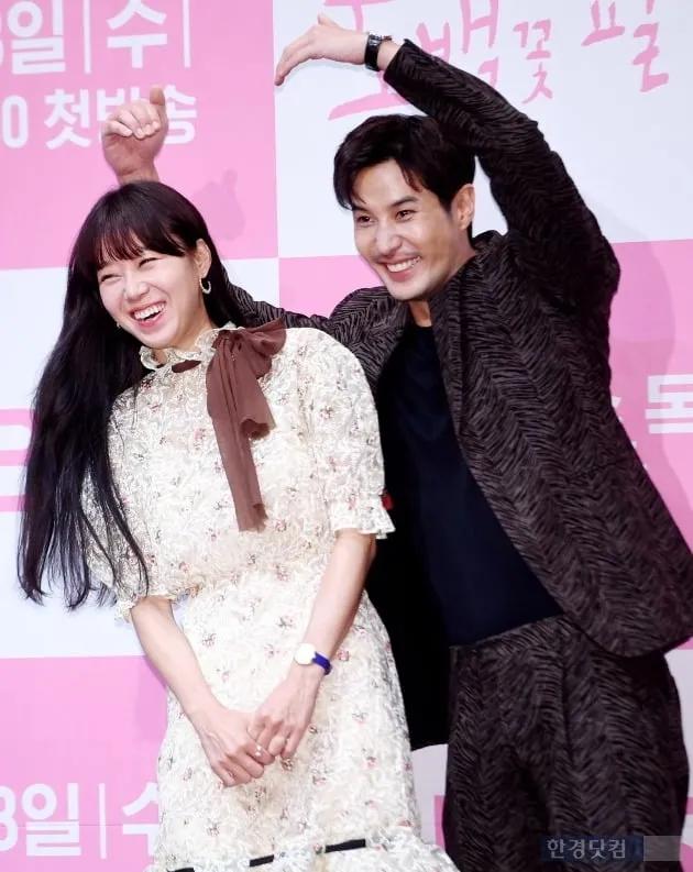Gong Hyo Jin Kang Ha Neul And Kim Ji Suk Attend Press Conference For Kbs Drama When The Camellia Blooms A Koala S Playground Kbs Drama Gong Hyo Jin Drama