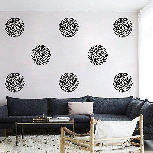 Vinyl Rain Drop Flower Wall Decal Rain Flower Wall Sticker Beautiful Flower Wall Mural Home Art Decor Black DigTour WallArt http://www.amazon.com/dp/B00T2TAPQO/ref=cm_sw_r_pi_dp_i4.Lwb1G4QW7K