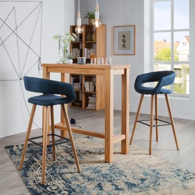 Chaise haute pour bar trendy chaise bar vintage de retro - Cuisine schmidt siege social ...