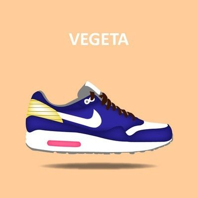 """later new list outlet boutique Some """"DBZ"""" Air Max 1's that I illustrated. Peep some small ..."""