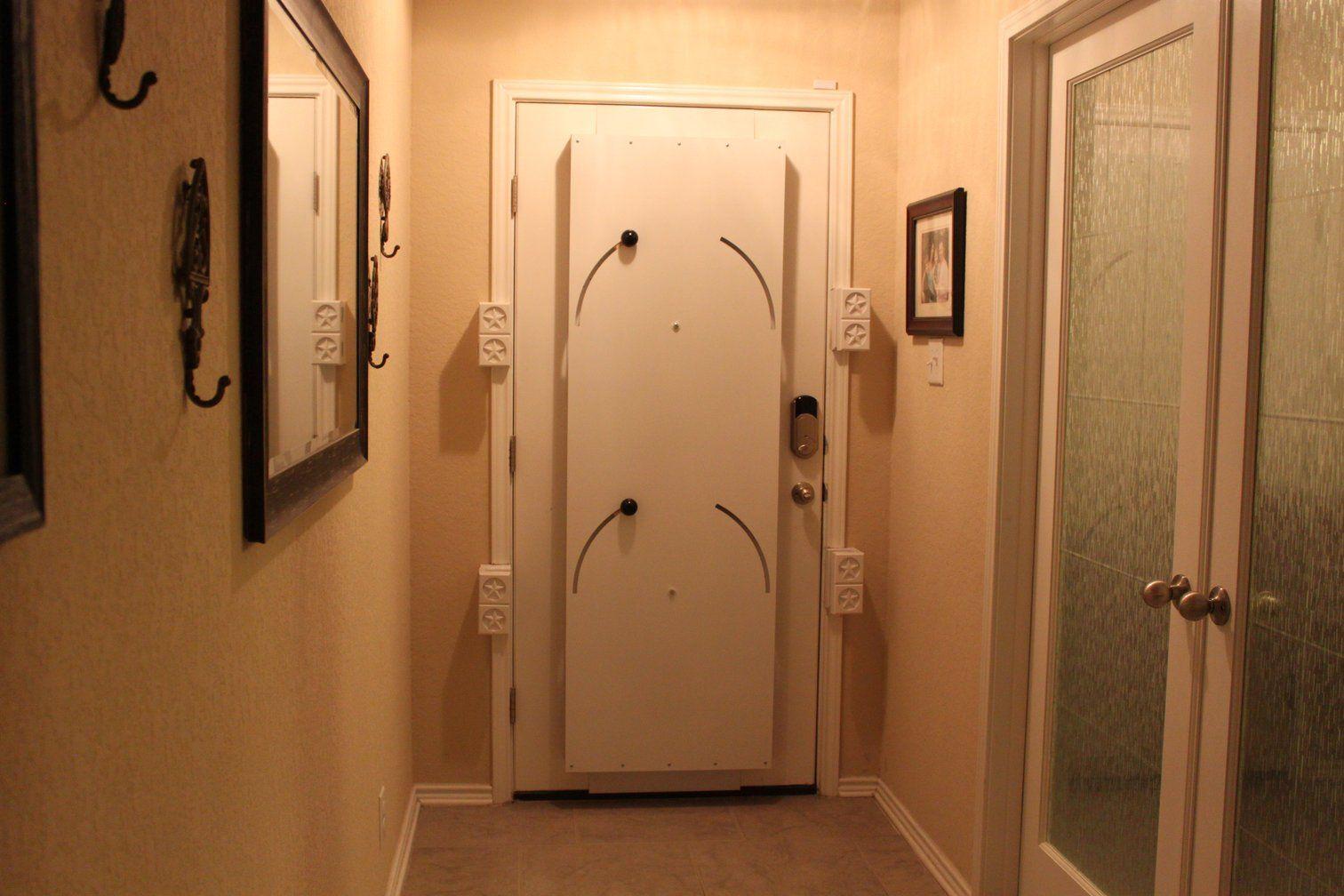 Door Barricade in 2020 (With images) Safe room, Doors